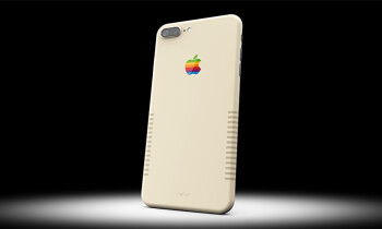 Custom-painted iPhone 7 Plus gives off vintage Mac vibes, costs 2 grand