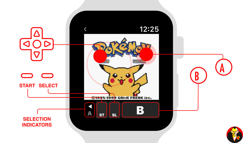 Is it practical? Not really. Would you spend 20+ hours playing Pokemon on your Apple Watch? Probably not. But it's still a pretty cool proof-of-concept! - Someone made classic Pokemon Yellow run on the Apple Watch