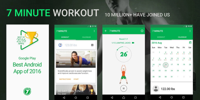 7 Minute Workout - Best Android apps