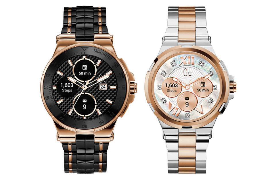 Gc Connect smartwatches - Android Wear 2.0 gets strong support from luxury watchmakers