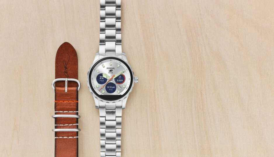Fossil Q x Cory Richards smartwatch - National Geographic photographer Cory Richards and Fossil announce limited edition Android Wear 2.0 smartwatch