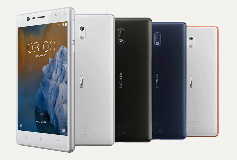 Nokia 3 - HMD confirms all its Nokia phones will hit the shelves in the second half of Q2