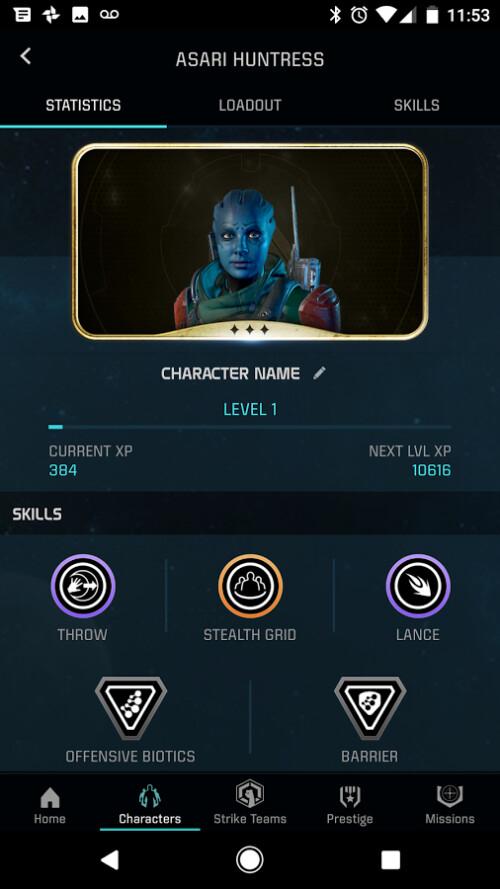 Mass Effect Andromeda companion app