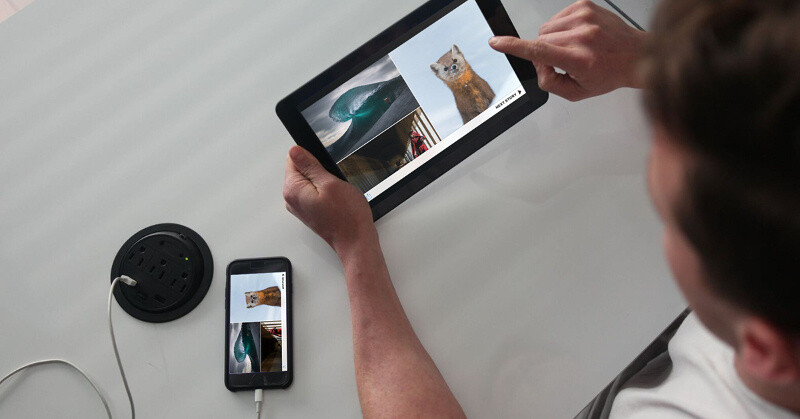 """Kickstarter project """"Superscreen"""" allows you to turn your Apple or Android phone into a tablet"""