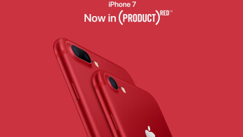 Apple announces Product Red iPhone 7 and 7 Plus editions