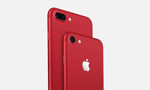Apple iPhone 7 and 7 Plus Product Red edition
