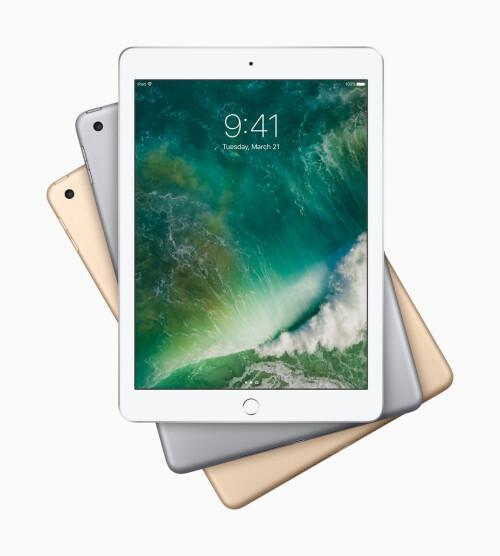 New Apple iPad 9.7, and the whole iPad family