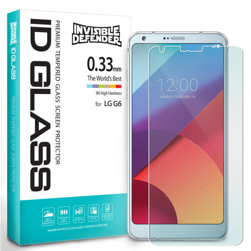 LG G6 Screen Protector - Invisible Defender by Ringke