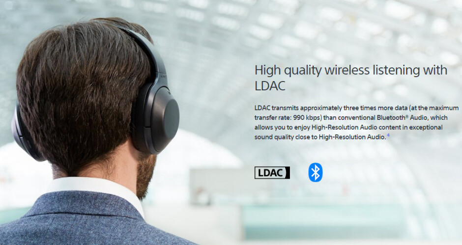 Sony MDR-1000x headphones featuring LDAC - Google says Sony contributed to major wireless audio quality enhancements in Android O