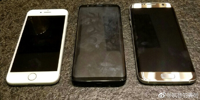 See how the Samsung Galaxy S8 compares to the iPhone 7 and Galaxy S7 Edge in size