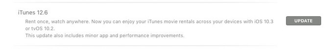 "iTunes 12.6 update comes with ""rent once, watch anywhere"" feature"