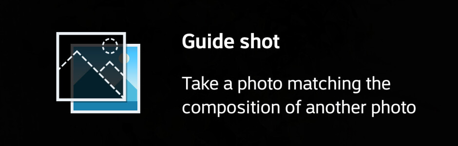 LG G6 Square Camera modes -- Grid shot and Guide shot - LG G6 camera UI: what's changed?