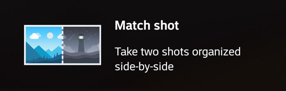 LG G6 Square Camera modes -- Snap shot and Match shot - LG G6 camera UI: what's changed?