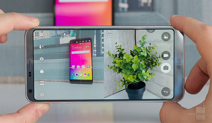 LG G6 camera walkthrough - PhoneArena