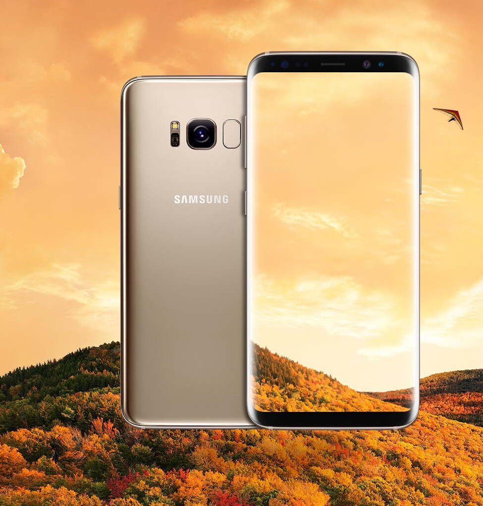 Here S A Clear Look At The Samsung Galaxy S8 In Gold