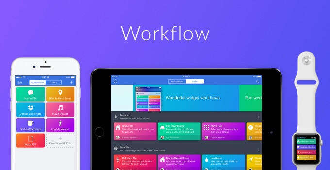 Apple bought excellent automation app Workflow and is making it free on the App Store