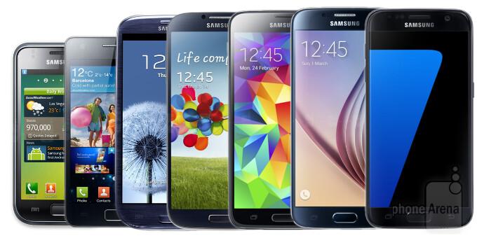 A journey through time: all Samsung Galaxy S phones so far