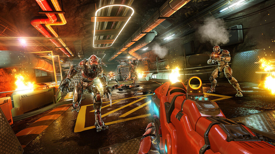 New Shadowgun Legends gameplay footage shows the dazzling graphics possible on current smartphones