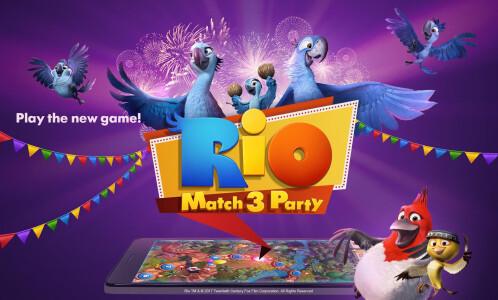 Rio Match-3 Party