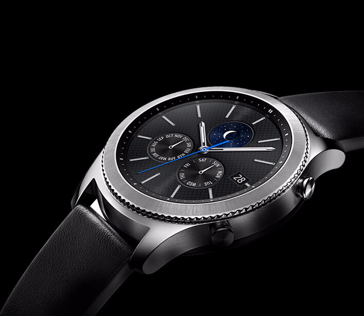 samsung introduces a 4g lte version of the gear s3 classic. Black Bedroom Furniture Sets. Home Design Ideas