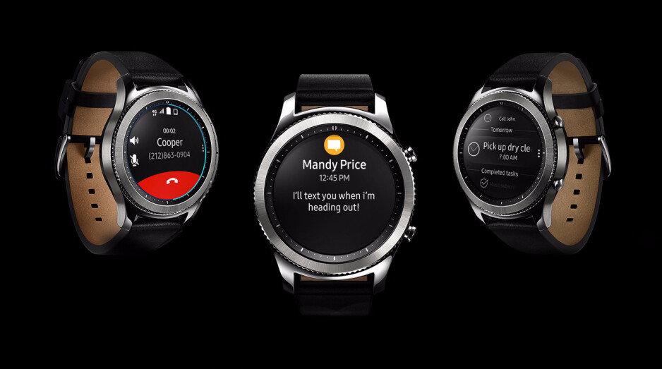 Samsung introduces a 4G LTE version of the Gear S3 Classic