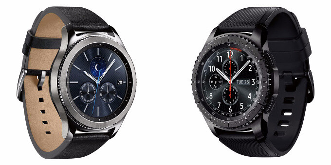 The Gear S3 classic vs Gear S3 frontier - Samsung introduces a 4G LTE version of the Gear S3 Classic