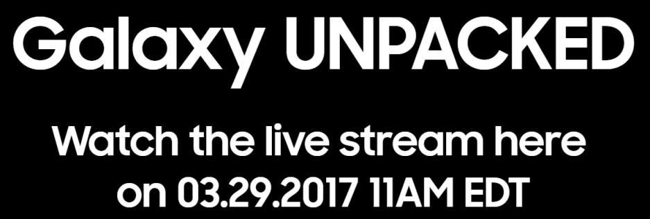 """Watch the Samsung Galaxy S8 and S8+ """"Unpacked"""" event livestream right here"""