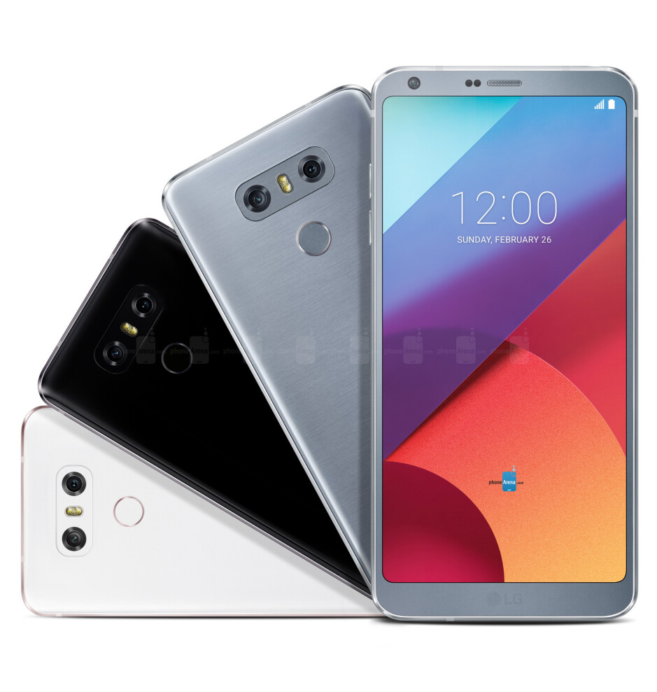 The LG G6 features an innovative FullVision display that's taller than that of most phones - What the Galaxy S8/S8+ and the LG G6 may look like next to an almost bezel-less iPhone 8