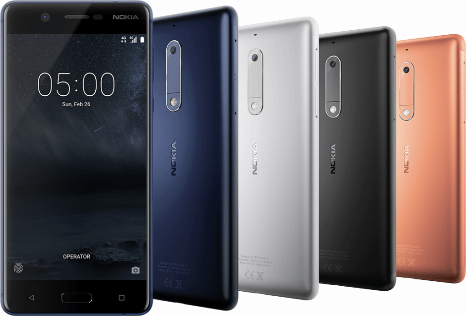 Dual SIM versions of Nokia 5 and Nokia 3 have separate microSD card slots, but the Nokia 6 doesn't