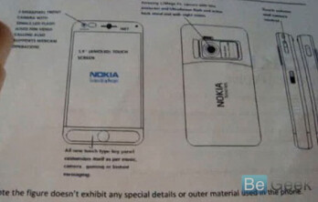 Nokia N87 Vasco surfaces and hints to AMOLED display?