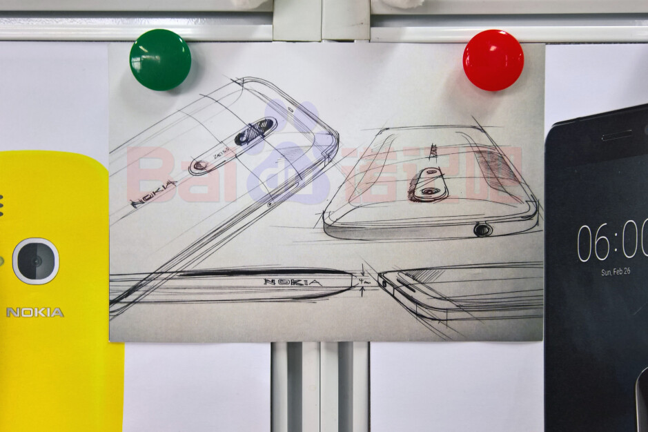 Alleged fllagship Nokia sketching flaunts Zeiss-branded dual camera