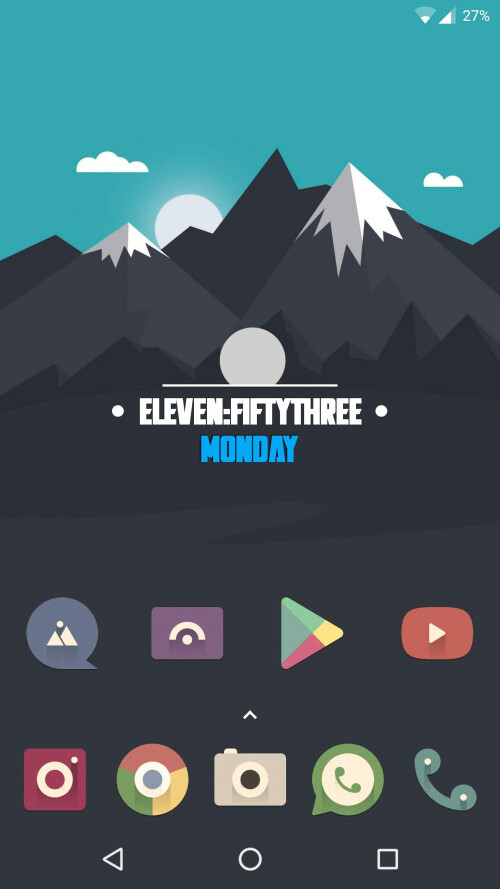 10 amazing Android home screen designs that will inspire you #9