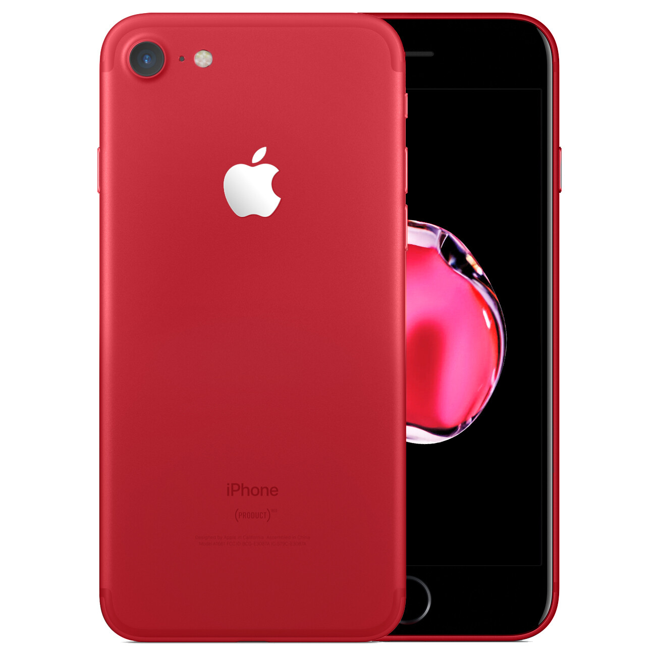 This Is How The New Red Iphone 7 Would Look With A Black