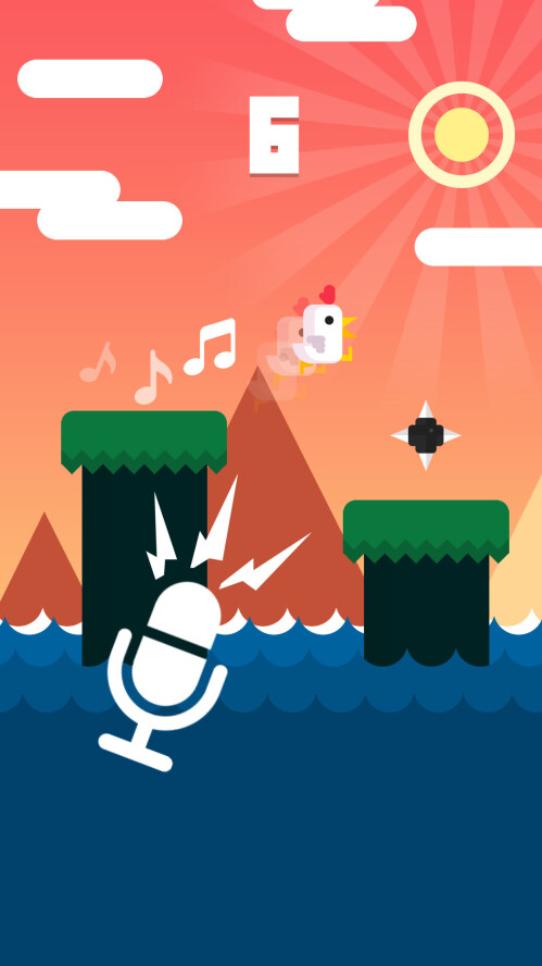 Chicken Scream for iOS and Android