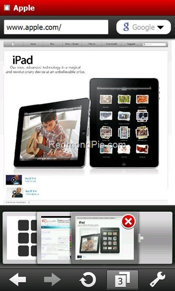 Flash making its way onto Opera Mobile 10 Beta 3 for Windows Mobile