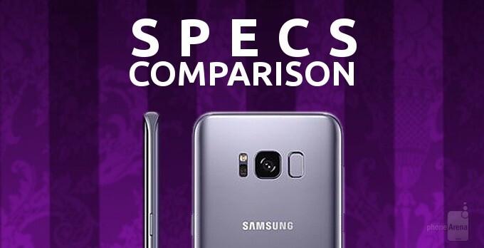 Samsung Galaxy S8+ vs Apple iPhone 7 Plus, LG V20, Google Pixel XL: a specs comparison