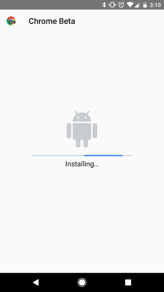 Android Nougat - Android O new feature adds a progress bar when installing APKs