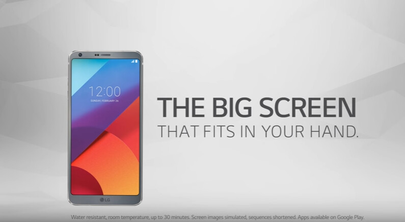 LG's first TV commercial for the G6 launches a day before Galaxy S8 announcement
