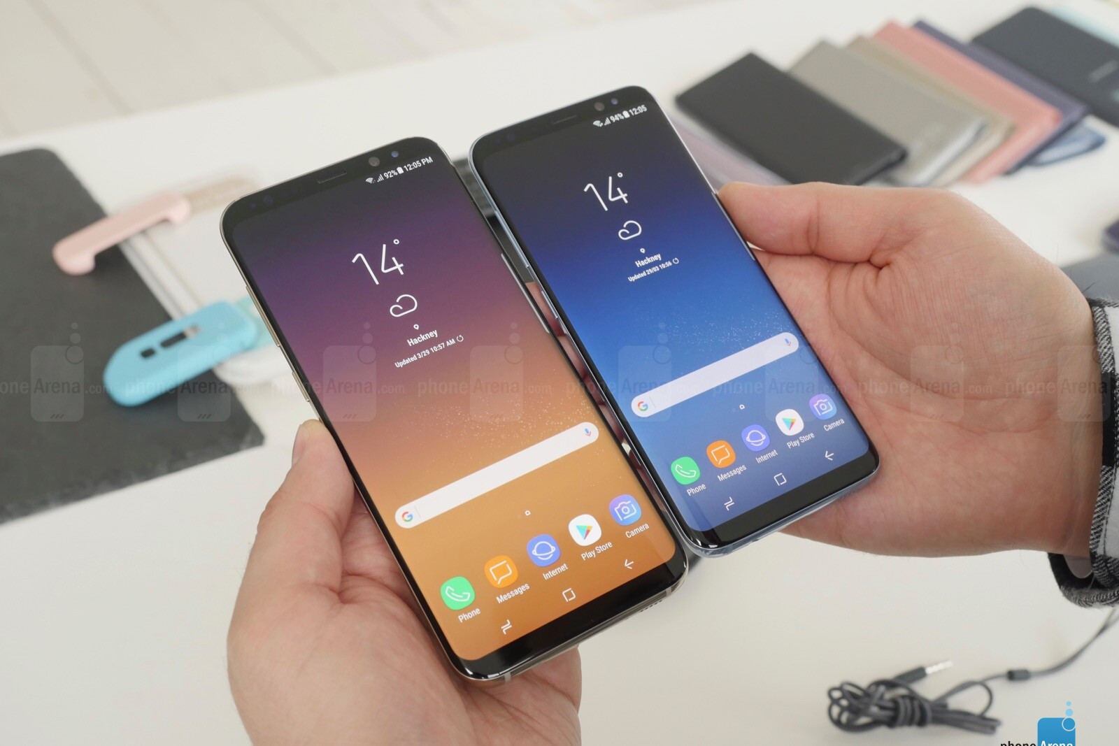 samsung galaxy s8 and galaxy s8 hands on there s never