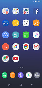 Samsung Galaxy S8 new UI - Samsung Galaxy S8 and Galaxy S8+ hands-on: there's never been smartphones like these before