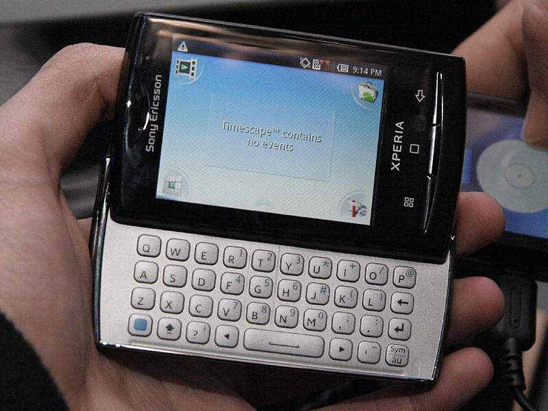 Sony Ericsson Xperia X10 mini pro - MWC 2010: Live Report