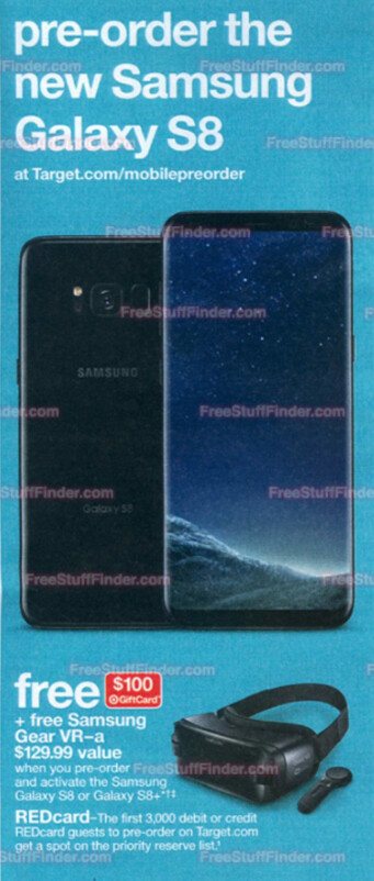 Samsung Galaxy S8 and Galaxy S8+ coming to Target and Best Buy