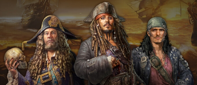 Pirates of the Caribbean: Tides of War will ride the hype ship of the new movie's release
