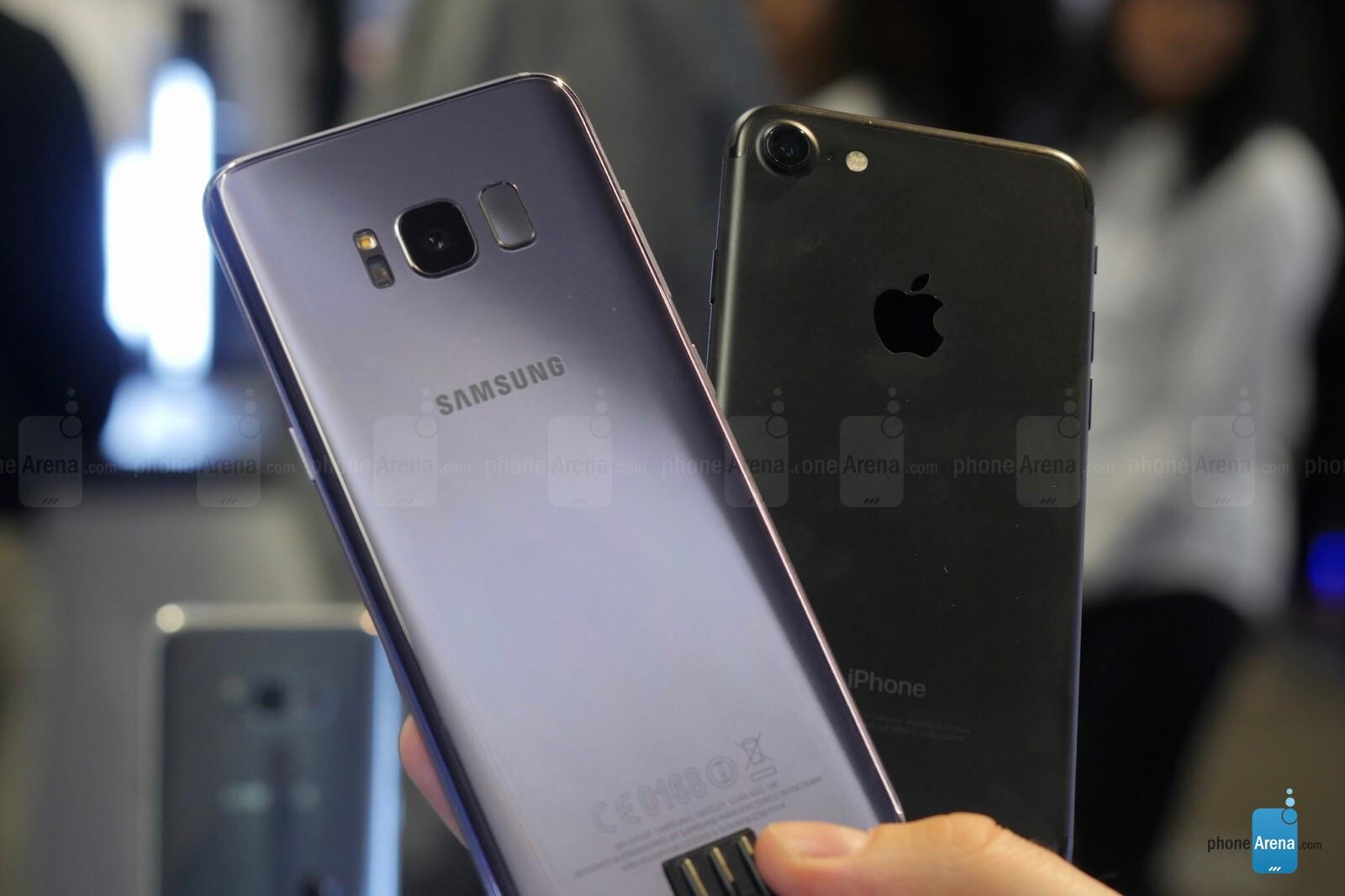 Iphone 7 Vs Galaxy S8 Phonearena