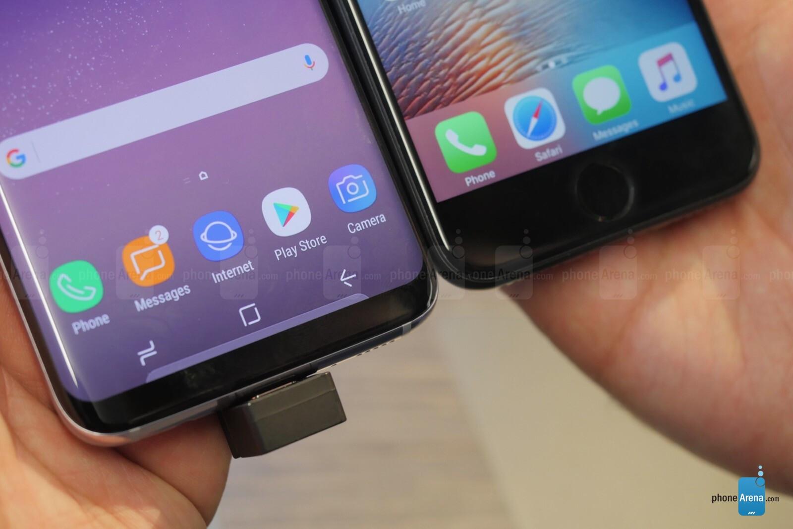 Galaxy s8 vs iphone 7 xataka