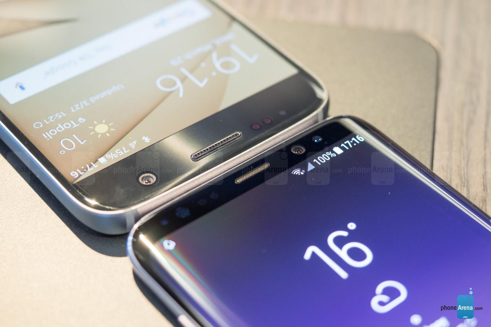 Samsung Galaxy S8 vs Galaxy S7: comparison and differences