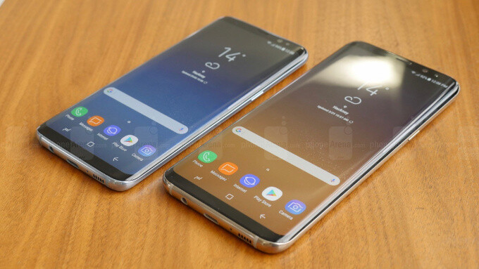 The software on the Galaxy S8 series is simplified and streamlined, if a tad boring - Samsung Galaxy S8 vs Samsung Galaxy S7: what's new, anyway?