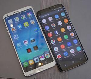 Samsung Galaxy S8 vs LG G6: Ultra-widescreen showdown