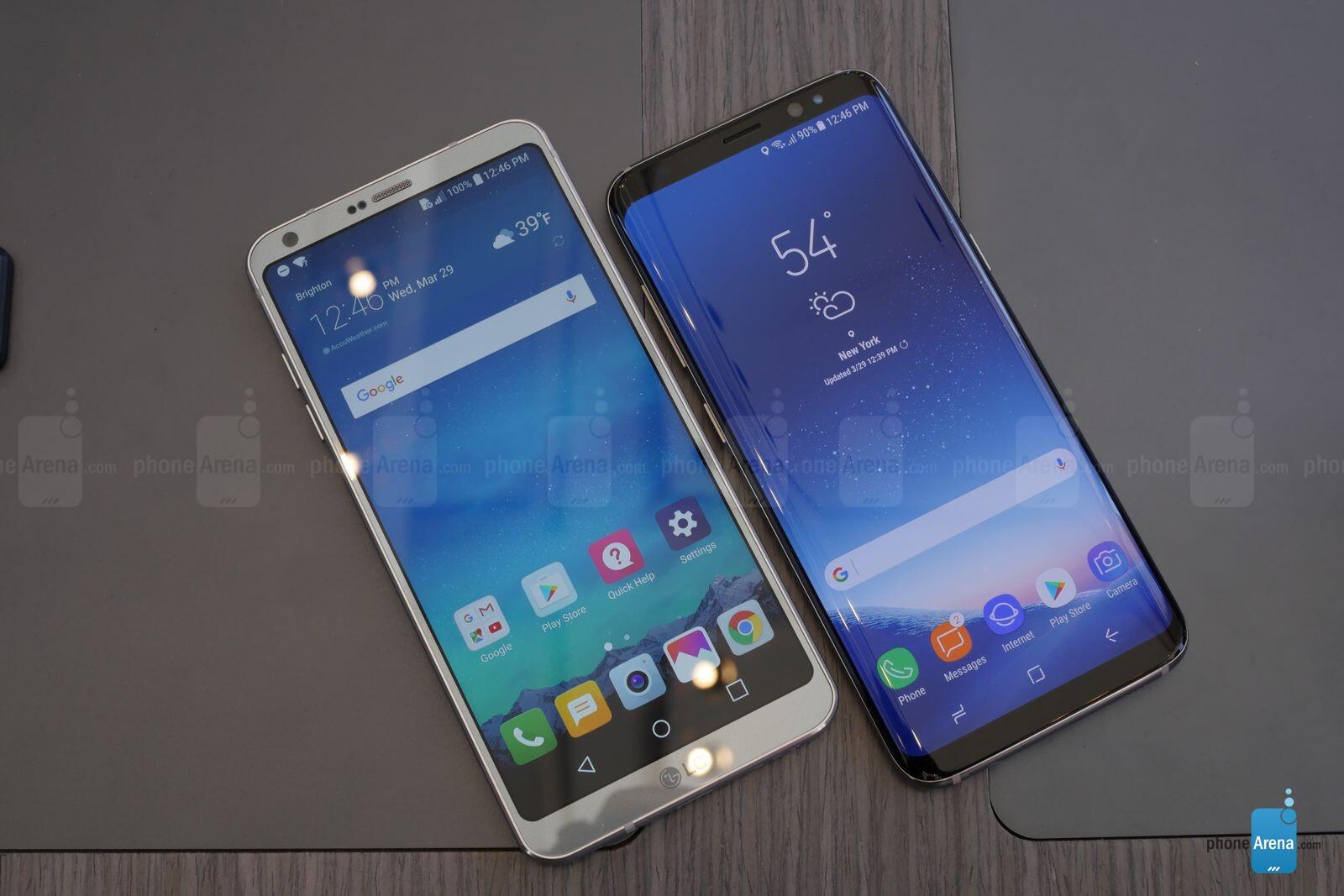 Samsung Galaxy S8 vs LG G6: Ultra-widescreen showdown ...