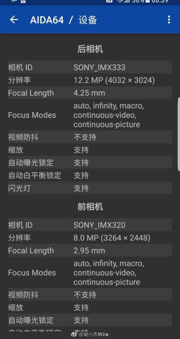 Galaxy S8 and S8+ come with new Sony IMX333 and Samsung camera sensors